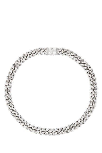 Cuban Pavè necklace