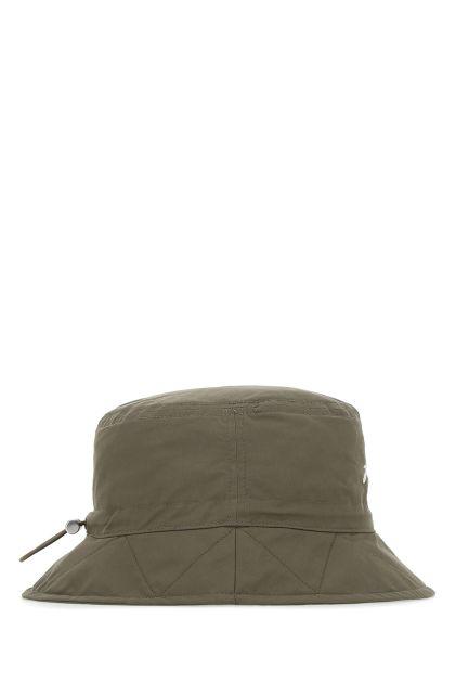 Army green cotton blend Le Bob Picchiu hat