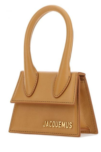 Ochre leather Le Chiquito handbag