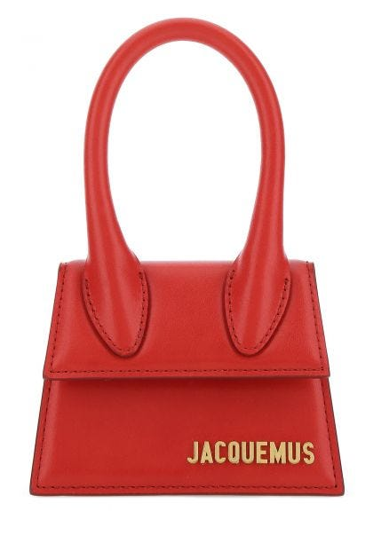 Red leather Le Chiquito handbag