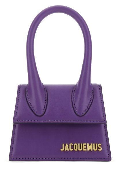 Purple leather Le Chiquito handbag