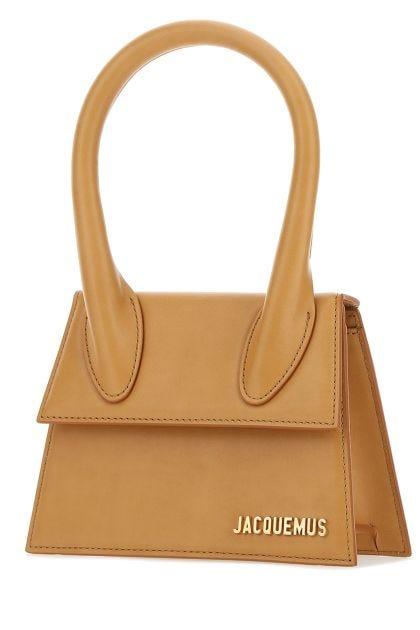 Ochre leather medium Le Chiquito handbag