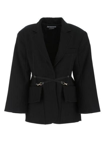 Black wool The jacket Soco blazer