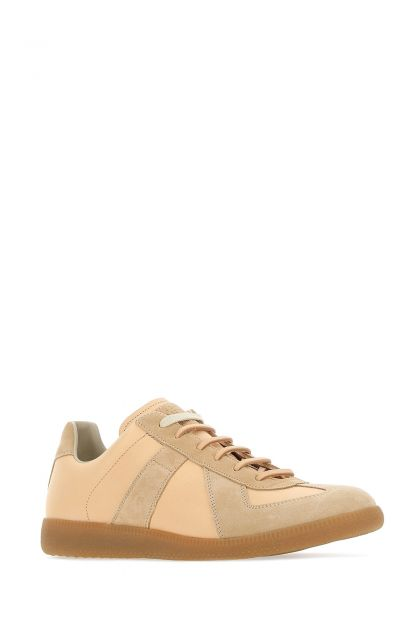 Two tone leather Replica sneakers