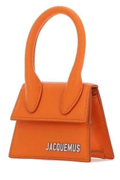 Orange leather Le Chiquito Homme handbag
