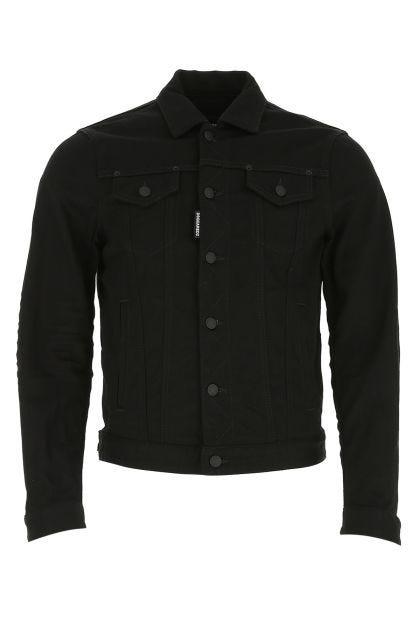 Black denim Dan Jean jacket