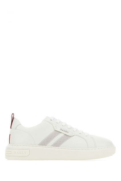 White leather Maxime sneakers