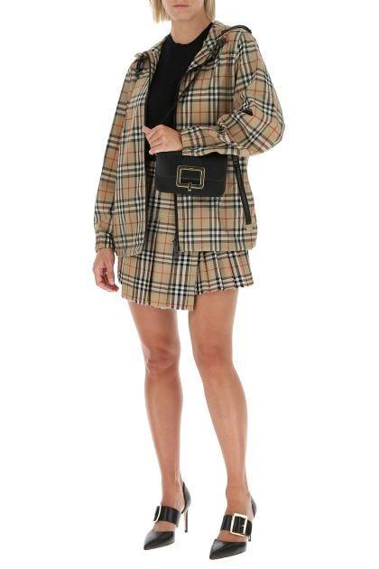 Black leather Janelle S crossbody bag