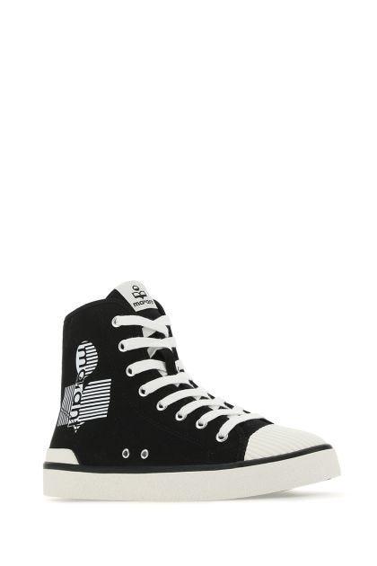 Black canvas Benkeen sneakers