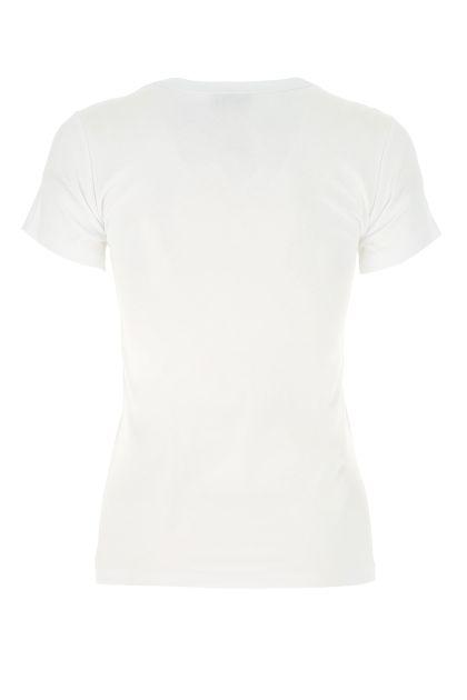 White cotton Slicup t-shirt