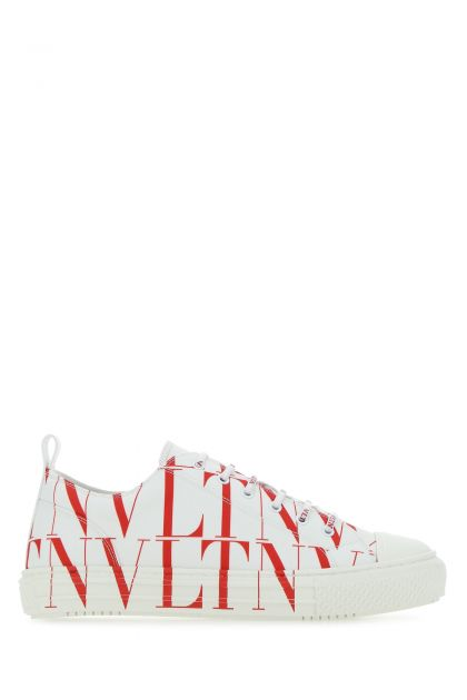 Printed canvas VLTN Times sneakers