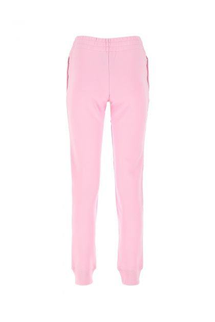 Pink cotton joggers