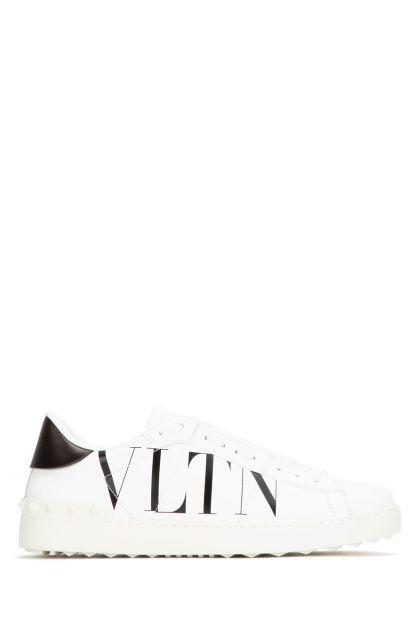 White leather Open VLTN sneakers