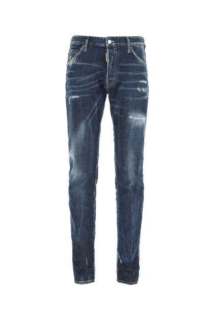 Blue denim Cool Guy jeans