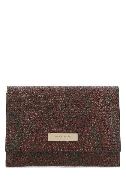 Printed cotton wallet