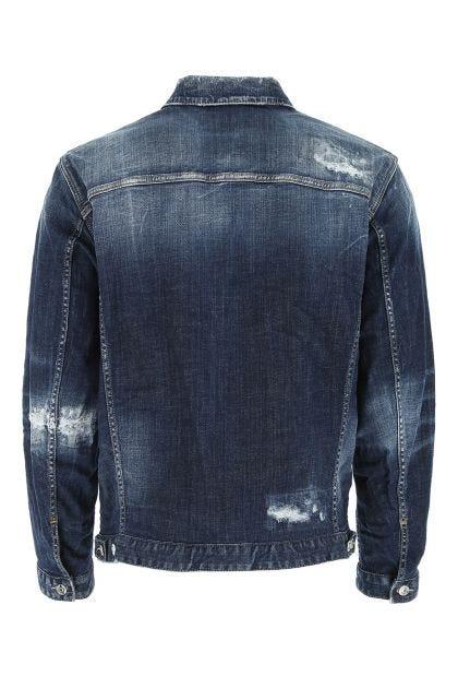 Blue denim Over Jean jacket