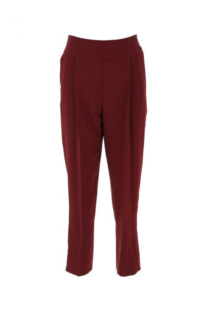 Tiziano red polyester pant