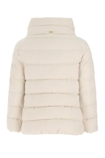 Chalk polyester down jacket