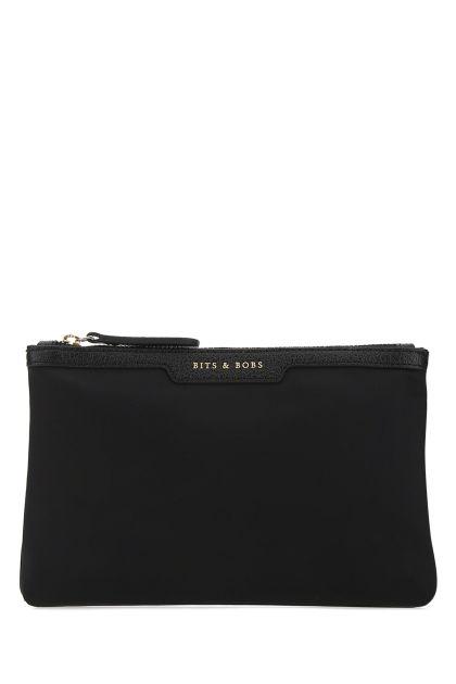 Black nylon Bits & Bobs pouch