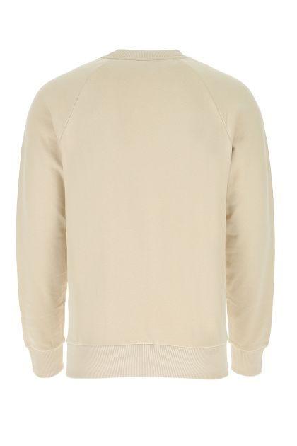 Beige cotton sweatshirt