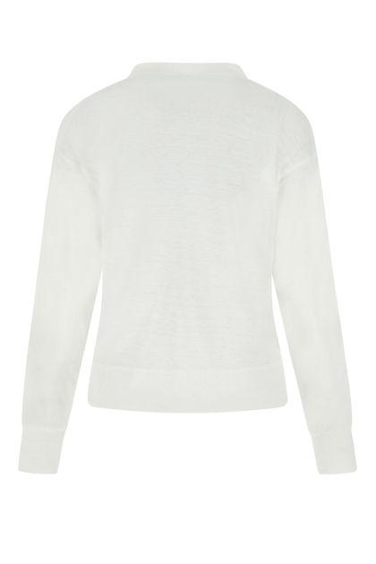 White linen Klowia top