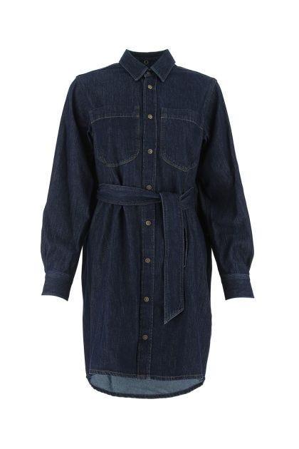 Blue denim De Bleury dress