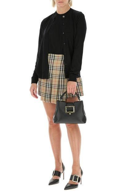 Black leather Jorah handbag