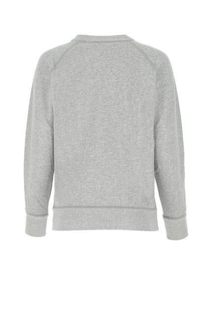 Melange grey cotton blend Milly sweatshirt