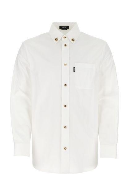 White piquet shirt