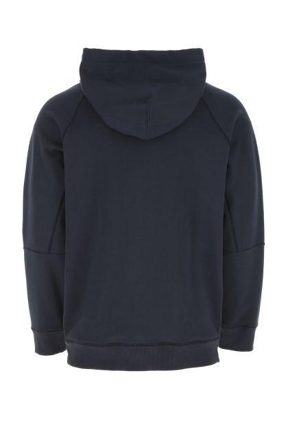 Midnight blue cotton oversize sweatshirt