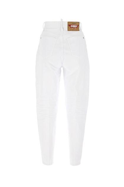 White denim Sasoon 80'S jeans