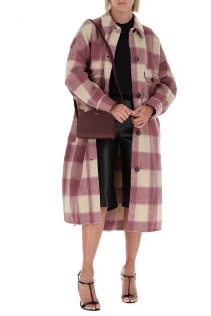 Embroidered polyester blend Fontizi coat