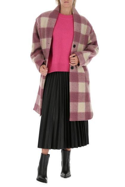 Embroidered polyester blend Gabriel coat