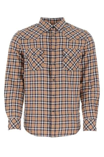 Printed cotton East shirt