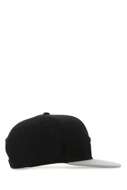 Two-tone polyester baseball cap