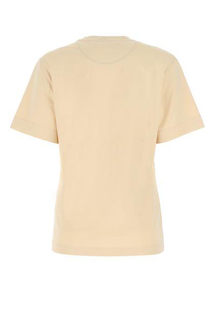 Skin pink cotton oversize t-shirt