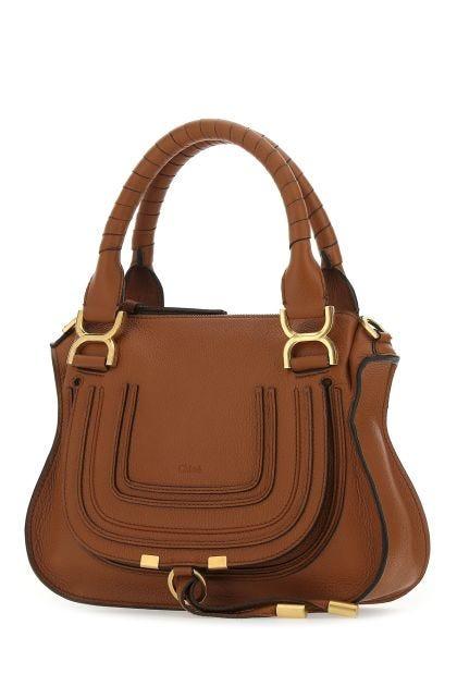 Black leather Marcie mini handbag