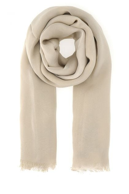 Sand silk foulard