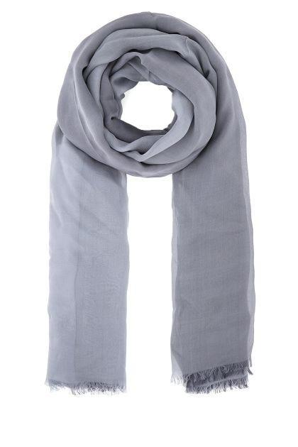 Multicolor silk foulard