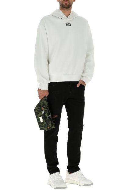 Printed nylon belt bag