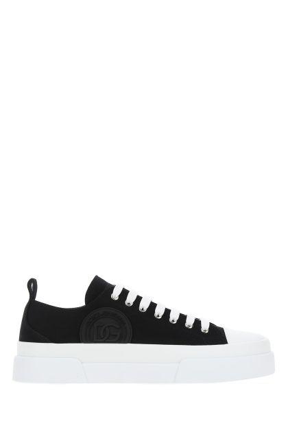 Black canvas Portofino Light sneakers