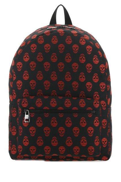 Embroidered nylon Metropolitan backpack