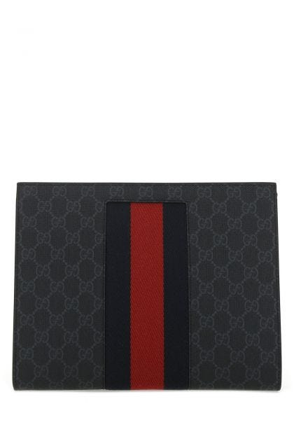 Printed fabric clutch