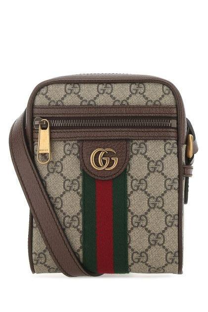GG Supreme fabric Ophidia crossbody bag