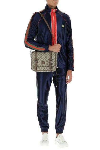 GG supreme fabric GG crossbody bag