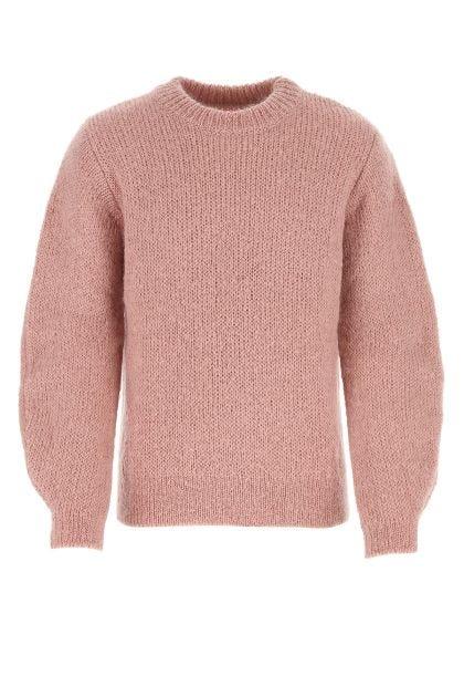 Pink mohair blend sweater