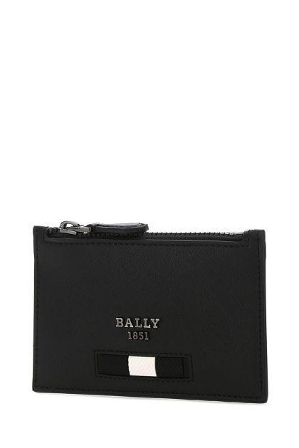 Black leather Babe cardholder