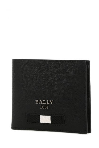 Black leather Bevyemy wallet