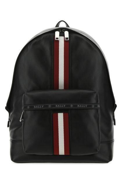 Black leather Harper backpack