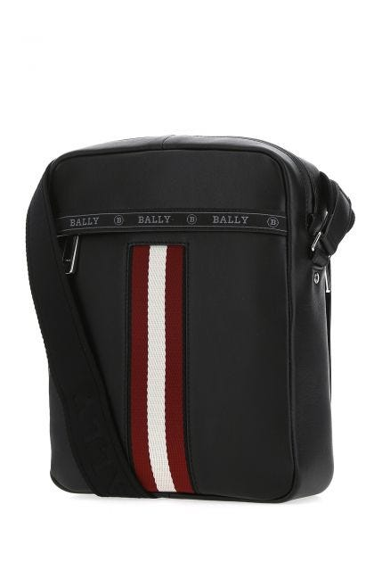 Black leather Holm crossbody bag